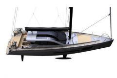 Le BD56, voilier hybride du chantier BD Yachts