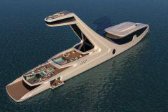 Le superyacht Shaddai