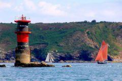 Les plaisirs de la navigation dans la rade de Brest et ses rivières