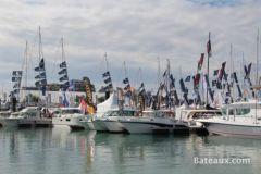 Bateaux à moteur au Grand Pavois de La Rochelle