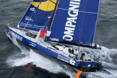 Naviguez en 360° avec Stéphane Le Diraison à bord de son IMOCA
