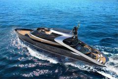 Attitude, concept de superyacht de Rossinavi