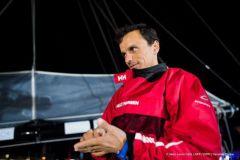 Avarie soldée pour Didac Costa, prêt à reprendre le départ du Vende Globe
