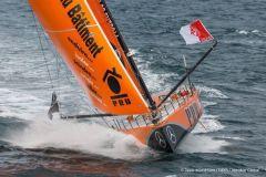 Gros problèmes sur PRB sur le Vendée Globe, Vincent Riou jette l'éponge