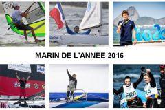 Marin de l'année 2016 par la FFVoile