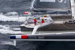 Idec Sport sur le Trophée Jules Verne