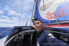 Le concurrent japonais Kojiro Shiraishi abandonne le Vendée Globe