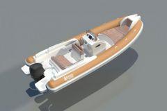 Nouveau semi-rigide Fanale Marine de U Fanale