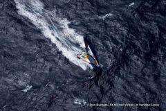 Vidéo de St-Michel Virbac dans le détroit de Bass, une première dans l'histoire du Vendée Globe