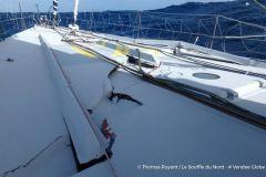 Situation à hauts risques pour Thomas Ruyant sur le Vendée Globe