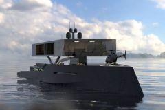 Le concept d'Antithesis Yacht