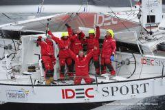 Idec Sport, nouveau vainqueur du Trophée Jules Verne