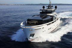 L'Arcadia 100, le plus grand modèle de la gamme d'Arcadia Yachts