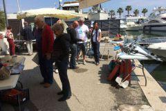 Le vide bateau de Golfe Juan