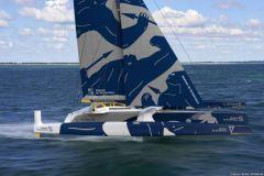 Sébastien Josse volera à bord de Gitana 17, un maxi trimaran de 32 m