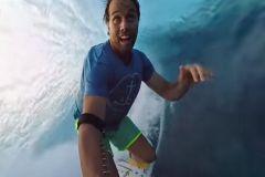 Anthony Walsh filme à 360° sa session à Teahupoo