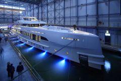 Le superyacht Home, au chantier Heesen Yachts