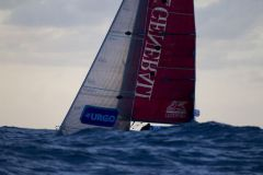 Nicolas Lunven, vainqueur de la première étape de la Solitaire Urgo Le Figaro
