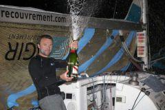 Adrien Hardy (Agir Recouvrement) vainqueur de la 2e etape de la Solitaire Urgo Le Figaro