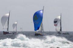 Départ de la 3eme étape de la Solitaire Urgo Le Figaro