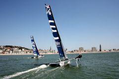 Les Diam 24 devant le Havre pour la Normandie Cup