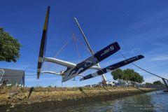 Maxi Edmond de Rothschild : un nouvel Ultime sur le plan d'eau