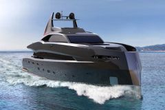 Le superyacht Gotham Project