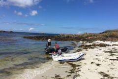 Vivre sur une île déserte, c'est possible dans l'archipel de Molène