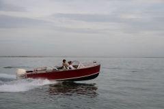 Le Sèol, canot automobile de 5,50 m du chantier naval Franck Roy