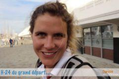 Clarisse Crémer, départ de la Mini-Transat 2017