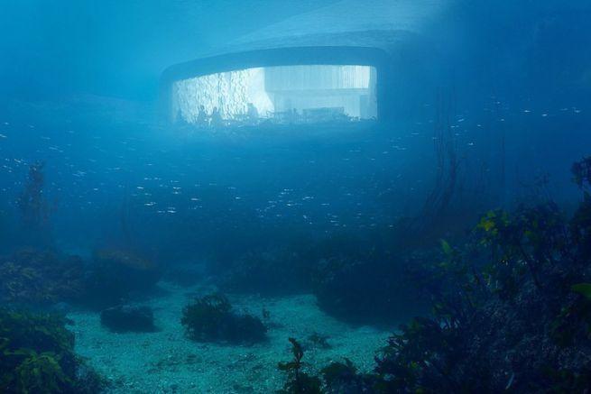 Under, le premier restaurant sous-marin européen