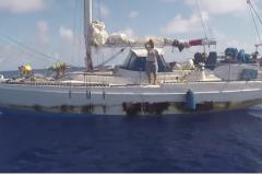 Le sauvetage de Jennifer Appel et Tasha Fuiaba par la marine nationale