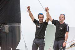 Thomas Coville et Jean-Luc Nélias remportent la 13 édition de la Transat Jacques Vabre
