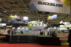 Le stand Quicksilver sur le Nautic 2016