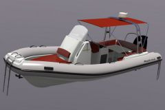 L'Hélios 27, le nouveau semi-rigide de Pro Marine