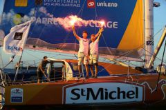 St Michel-Virbac vainqueur en IMOCA de la Transat Jacques Vabre 2017