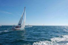 Schouten, le voilier d'Alain Maignan pour son tour du monde à l'envers
