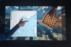 Table à cartes tactile Kara Technology