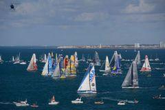 Départ de la 8ème édition du Vendée Globe