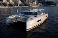 Un catamaran de 42 pieds dans la gamme voile de Fountaine Pajot