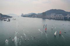 Départ de la 6e étape de la Volvo Ocean Race