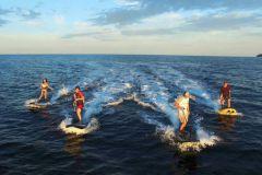 La planche de surf électrique Lampuga