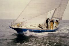 Gauloises, le nouveau nom de Pen Duick III en 1977