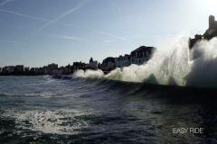 Grande marée d'avril 2018 à Saint-Malo