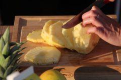 Fruits caramélisés à la plancha