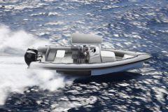Le X100, premier semi-rigide amphibie d'Iguana Yachts
