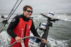 Charles Caudrelier sur la Volvo Ocean Race