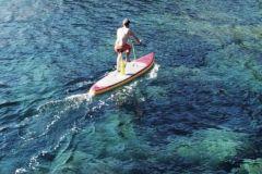 Rivike, le premier paddle bike gonflable