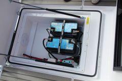 Les batteries sur un bateau