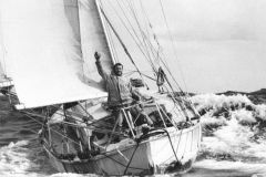 Sir Robin Knox-Johnston, vainqueur du Golden Globe Challenge
